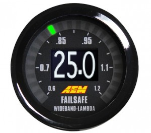 New Wideband FAILSAFE Gauge from AEM Performance Electronics