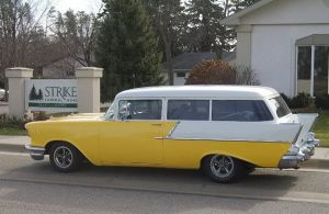 Thief Fleeing Police Steals '57 Chevy Wagon
