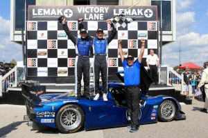 Corvette Daytona Prototype Wins Its First GRAND-AM Race