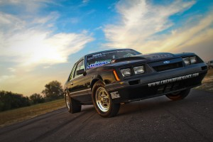 Joe Guertin's Coyote 5.0-Powered Four-Eyed Fox Body Mustang