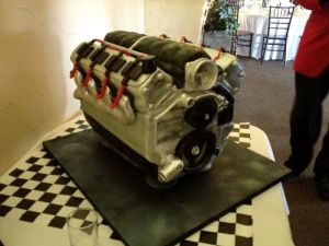 "LSX Groom's Cake – ""An Engine You Could Eat Off"""
