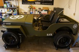 Swap Insanity: LS1 Powered 1952 Willys Jeep is a Triple Threat