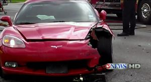 Wrecked Vette Wednesday: Street Racing Wrecks a C6 and Mustang