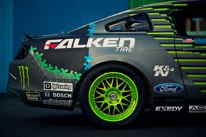 Video: Vaughn Gittin Jr. Unveils 2013 Falken Monster Drift Mustang
