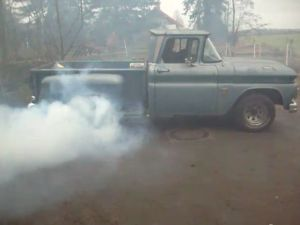 Video: 60's Chevy Pickup An Affordable Tire Burner