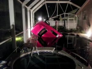 '67 Camaro Crashes Into Florida Pool