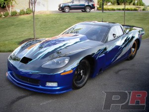 John Carter Reveals Newest Ride: An '11 Corvette Outlaw 10.5 Racer