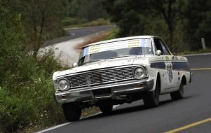 Monte Carlo-Winning Ford Falcon Heading To Auction