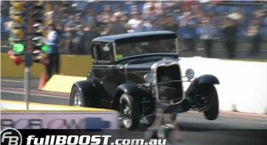 Video: Ford A-Model Drops Into the 9s at Australian Drag Race Event