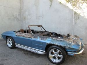 Wrecked Vette Wednesday: For $15,000, One Hot Corvette