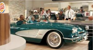 C1 Corvette Makes Appearance in New BK Commercial with Jay Leno