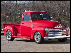 Pro-Touring Classic &#8217;51 Chevy Pickup Hitting Mecum