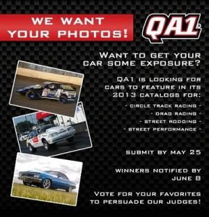 QA1 Wants Your Car Photos For Their 2013 Catalogs