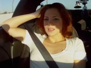 Video: All-Natural Redhead Rides Shotgun In Superfast Corvette