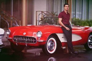 Red C1 Corvette Stars In Starz' Newest Drama, 'Magic City'