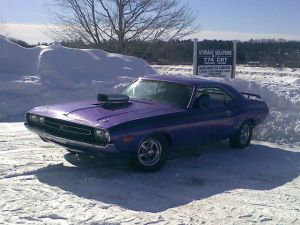 Heads Up: '73 Plum Crazy Challenger Stolen Out of Garage