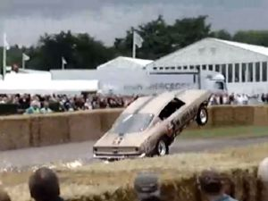 Video: The HEMI Under Glass Tackles The Goodwood Hill Climb