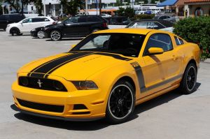 Photos: The 2013 School Bus Yellow BOSS 302