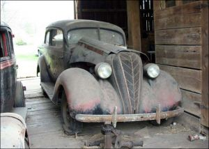 Internet Used As A Tool For a Barn Find