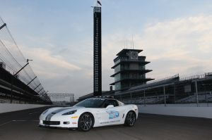 Official Indy 500 Pace Car Announced: 2013 Corvette ZR1