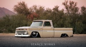 This '65 Chevy C-10 Is A Kuckle-Dragging Weathered Beauty