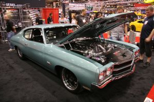 Twin Turbo Chevelle Sports 950 HP, 1,700 lb/ft Duramax