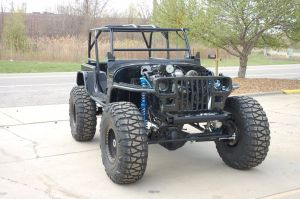 Wounded Warrior Jeep Packs Supercharged 5.3 LS Punch