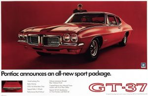 Muscle Cars You Should Know: 1970-71 Pontiac GT-37