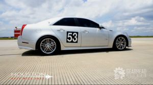 Video: CTS-V Goes Flat Out at The Houston Half Mile Shootout