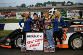 Photo Gallery: O'Neal Conquers Lucas Oil Late Models at Tri-City