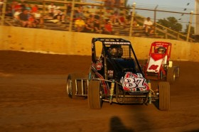 Photo Gallery: Stratton Wins POWRi Midgets at Belle-Vegas