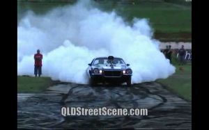 Video: No Mercy Camaro Burnout – Children Beware