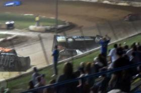 Video: Who's At Fault: Hard Racing Leads To Violent Flip At Florence