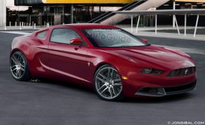 AutoGuide Renders Their Version Of The 2015 Mustang