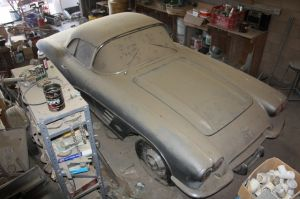 '61 Corvette Barn Find Project Car Up For Sale on eBay