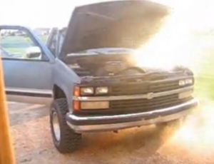 Video: Dad Grenades Truck Engine As Last Resort