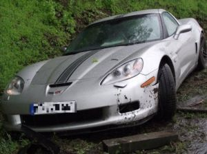 Wrecked Vette Wednesday: Autobahn Claims 3 Supercars In 2 Days