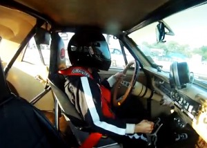 Video: Awesome Ride Aboard A 4-Speed Small Block Super Stocker