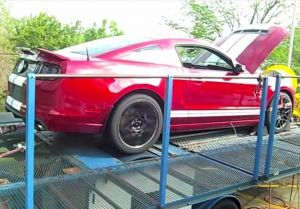 Video: 2013 Shelby GT500 Puts Down 609 RWHP