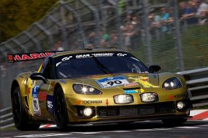 Nurburgring 24 Turns Into a Challenge for HARIBO Corvette Team