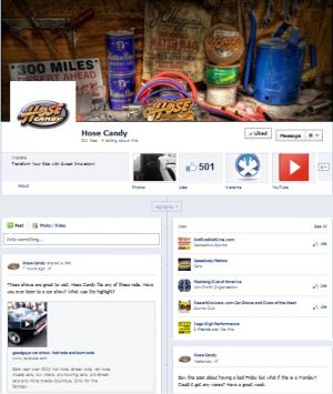 Help Hose Candy Grow on Facebook and Get Rewarded