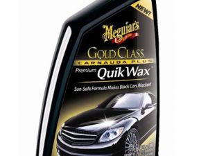 Get Spotless Shine with Meguiar's New Carnauba Plus Quik Wax