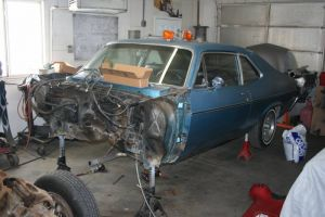 72 Nova Getting New Lease On Pro-Touring Life