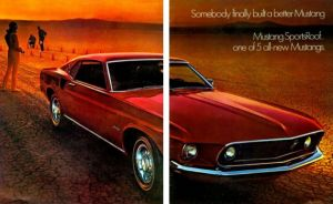 Retro Brochures: Five Versions of the 1969 Mustang