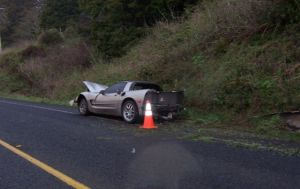 Wrecked Vette Wednesday: C5 Corvette + Booze + Speed = Mortality