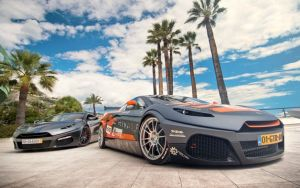 LSx-Powered Savage GTR Unveiled At Top Marques Show In Monaco