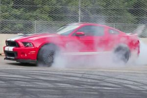 Video: 2013 Shelby GT500 Shredding Rubber