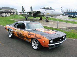 '69 Warrior Camaro Raises Awareness for the Wounded Warrior Project