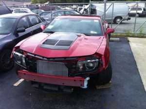 Dealership Selling Wrecked 2012 Camaro ZL1 For $50,000