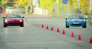 Corvette ZR1 versus Ferrari 599 GTO and Nissan GT-R